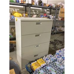 """Hon 4-Drawer Office Cabinet (19.5"""" x 36"""" x 53"""" H)"""