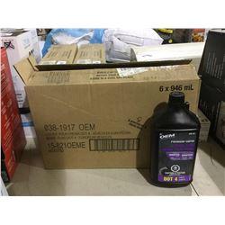 Case of OEM Premium Super Dot 4 Brake Fluid (6 x 946mL)