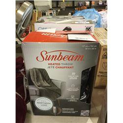 "Sunbeam Heated Throw Blanket (50"" x 60"")"