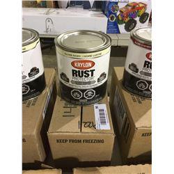 Case of Krylon Rust Protector Gloss Ivory Enamel (2 x 946mL)