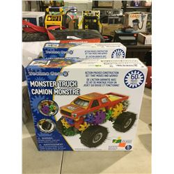 Techo Gears Monster Truck Construction Set