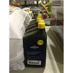 Briggs and Stratton Low Temp Small Engine Oil SAE 5W-30 4-Cycle Engine Oil (946mL) Lot of 6