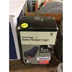 Classic Accessories Single Stage Snow Thrower Cover