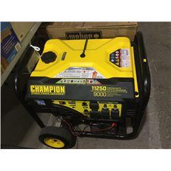 Champion 11250 Starting Watt Generator - As is