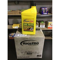 Case of Race Pro SAE 5W-30 Premium Motor Oil (6 x 946mL)