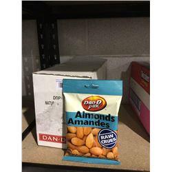 Case of Dan D Pak Raw Almonds (11 x 100g)