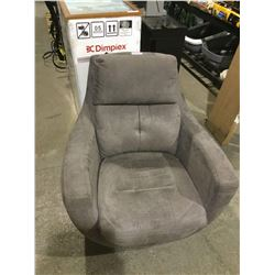 Grey Sofa Chair (As is, no base)