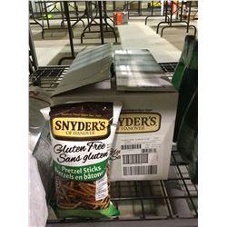 Case of Snyder's Gluten Free Pretzel Sticks (12 x 220g)