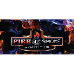 Fire & Smoke Seven Course Tasting Dinner For Eight Guests
