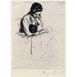 Mary Cassatt - Mother Nurses Child