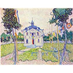 Van Gogh - The Community House In Auvers