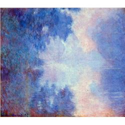 Claude Monet - Seine in Morning