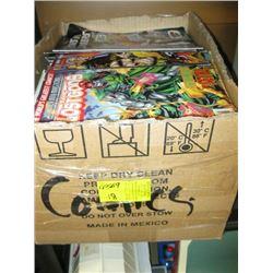LARGE BOX OF COMICS