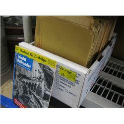 BOX OF MODEL RAILWAY BOOKS