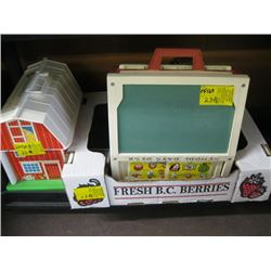 A LOT OF KIDS TOYS (FISHER-PRICE) ETC.