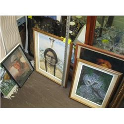LARGE LOT OF ASSORTED PRINTS