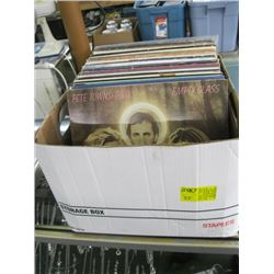 BOX OF ASSORTED RECORDS