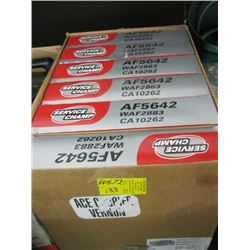 BOX OF 6 NEW AIR FILTERS