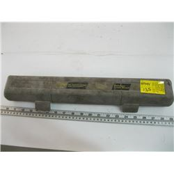 """ULTRA PRO 1/2"""" TORQUE WRENCH IN CASE"""