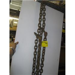 11 FT CHAIN WITH 2 HOOKS