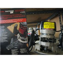CRAFTSMAN ROUTER, ROUTER GUIDE KIT