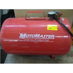 MOTOMASTER 10 GAL PORTALE AIR TANK