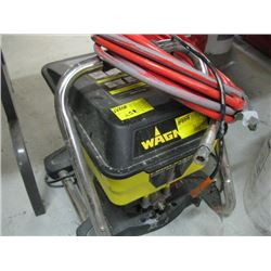 WAGNER POWER CREW HOUSE PAINTING UNIT WITH ACCESSORIES