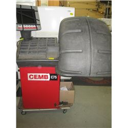 CEMB C75 WHEEL BALANCER