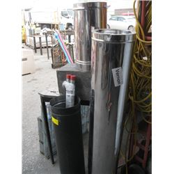 1 LOT OF CHIMNEY PIPES