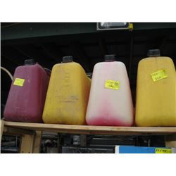 4 JERRY CANS