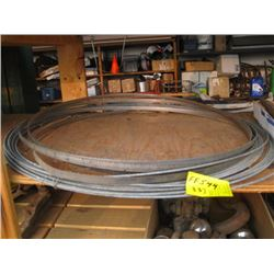 ROLL OF METAL FENCING LINE & BANDSAW BLADE