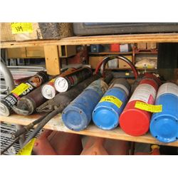TORCH PROPANE BOTTLES, GREASE GUNS WITH GREASE