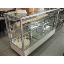 5' X 1 1/2' GLASS SHOWCASE