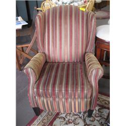1 STRIPED RECLINER CHAIR