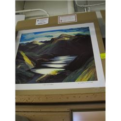 """GROUP OF 7 PRINT """"LIGHT & SHADOW"""" BY FRANKLIN CARMICHAEL"""
