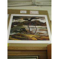 """GROUP OF 7 PRINT """"BENT PINE"""" BY A.Y.JACKSON"""