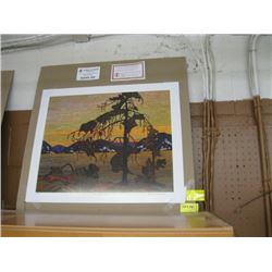 """GROUP OF 7 PRINT """"THE JACK PINE"""" BY TOM THOMSON"""
