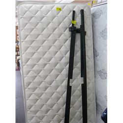SINGLE MATTRESS WITH ROLLER FRAME