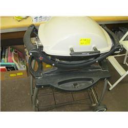 SMALL WEBER PROPANE BBQ