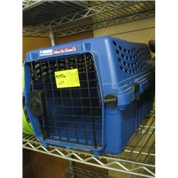 SMALL BLUE PET KENNEL