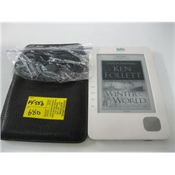 KOBO READER WITH CORDS & CASE