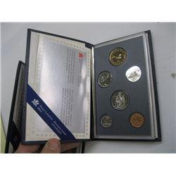1990 PROOF CDN COIN SET