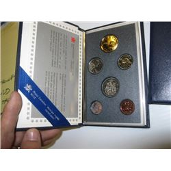 1989 CND PROOF COIN SET