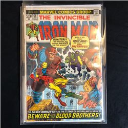 The Invincible IRON MAN #55 (MARVEL COMICS)