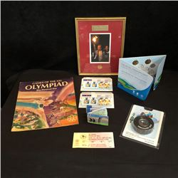 OLYMPICS COLLECTIBLES LOT