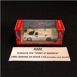 "RARE 1:43 SCALE 19896 LEMANS 24 HOUR PORSCHE 956 ""SPIRIT OF AMERICA"""
