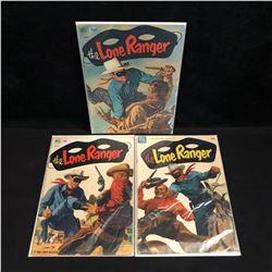 VINTAGE The LONE RANGER COMIC BOOK LOT (DELL COMICS)