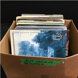 VINYL RECORD LOT (50+ LPs)