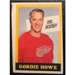 1969-70 O-Pee-Chee Hockey Card Gordie Howe