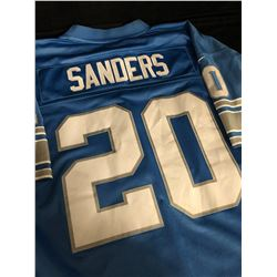 BARRY SANDERS DETROIT LIONS FOOTBALL JERSEY (2 XL)